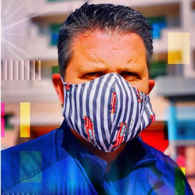 Sapeur Pompier (Masque Tissu)