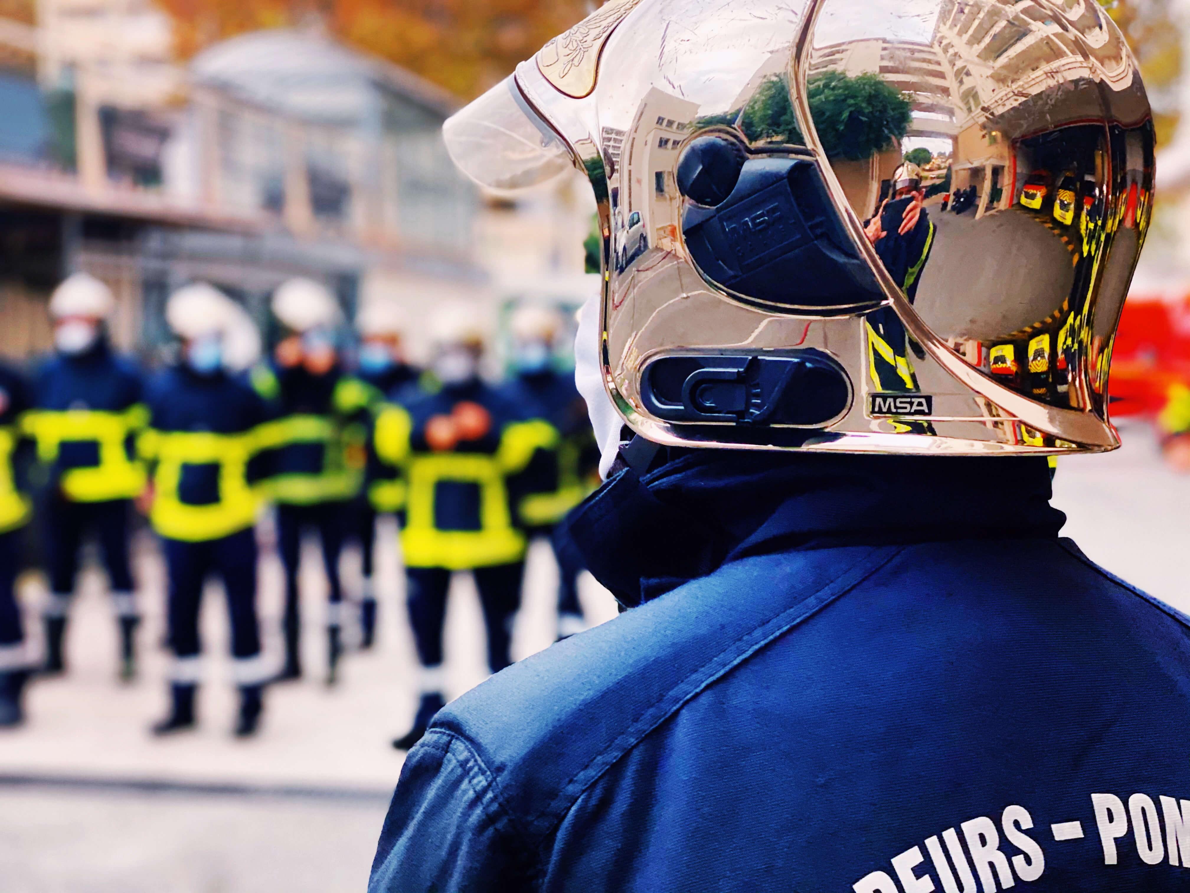 Cérémonie du Souvenir - Pompiers de Nice