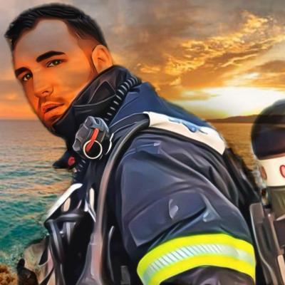 Pompier de la Ville de Nice - Côte d'Azur