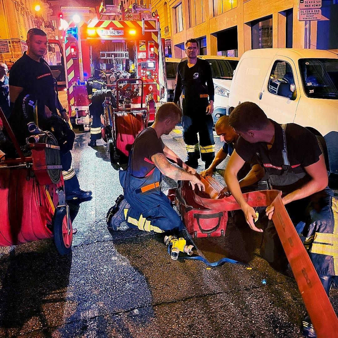 Complémentarité, Casernes Pompiers de Nice