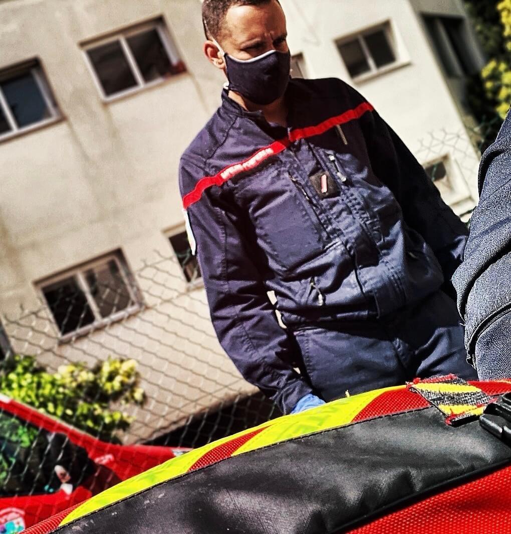 Pompier de Nice
