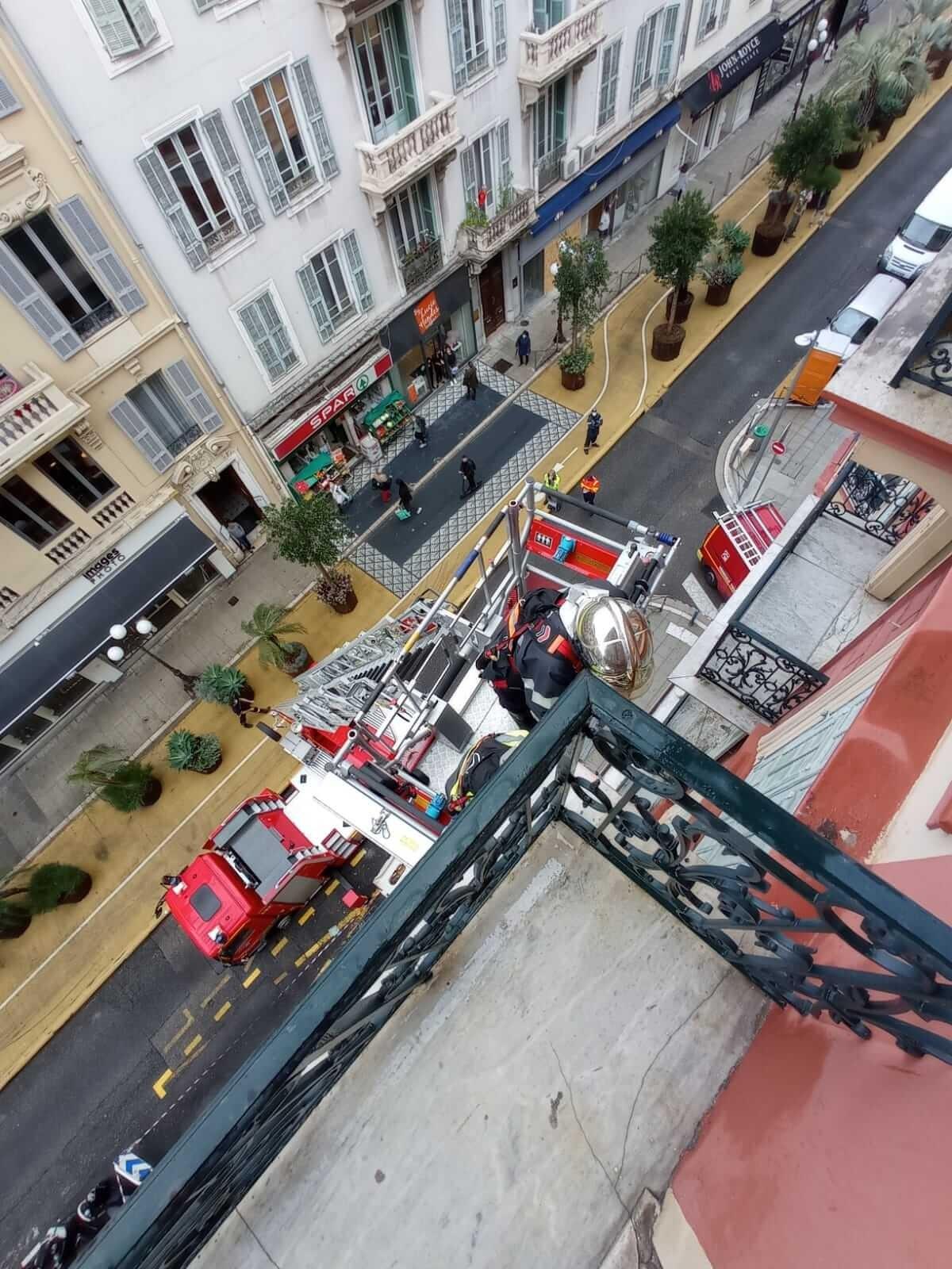 Tempête Alex - Pompiers de Nice