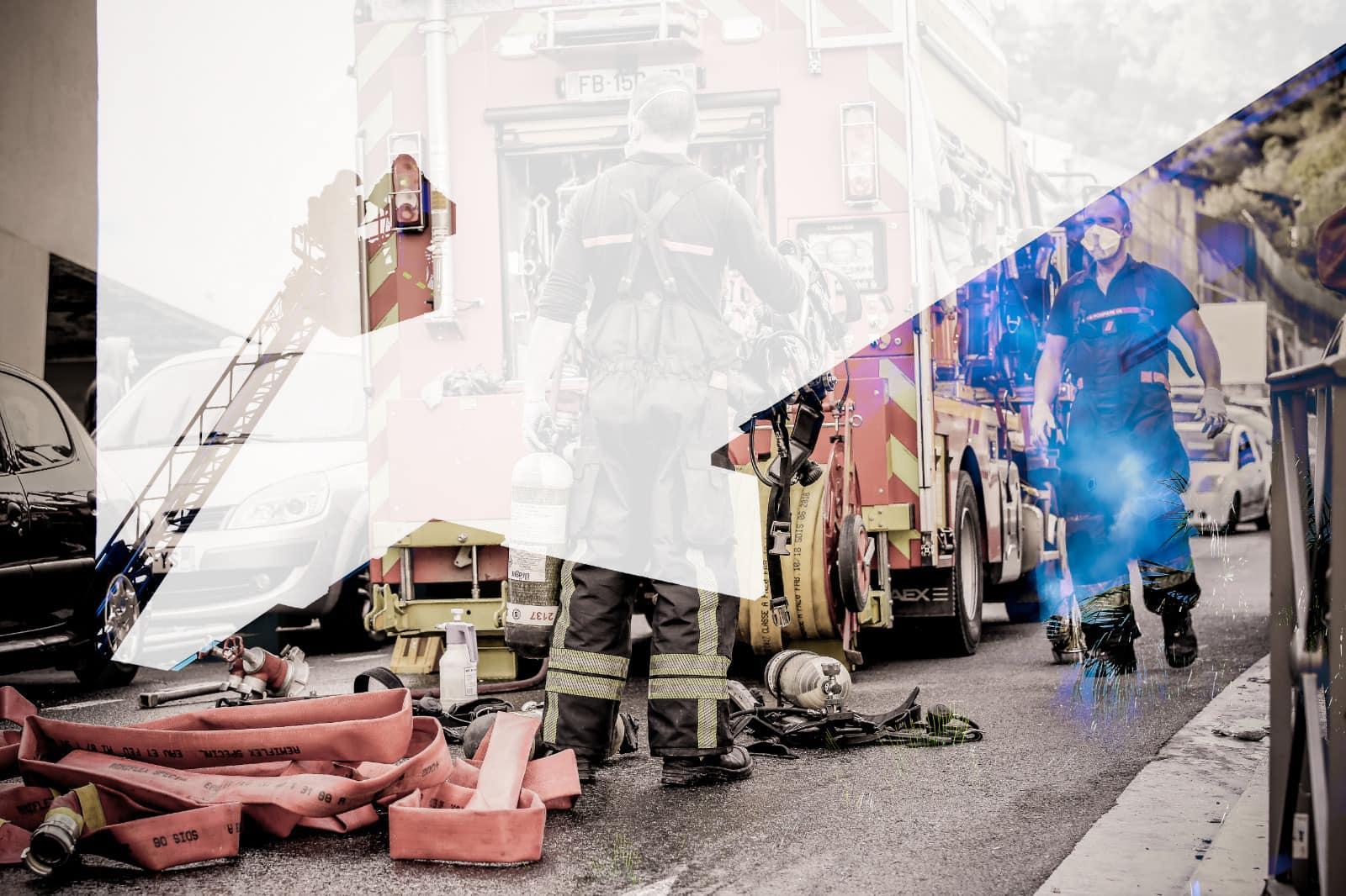 Reconfinement  | Covid19  | Pompiers de Nice