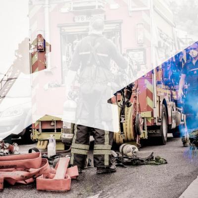 Reconfinement    Covid19    Pompiers de Nice