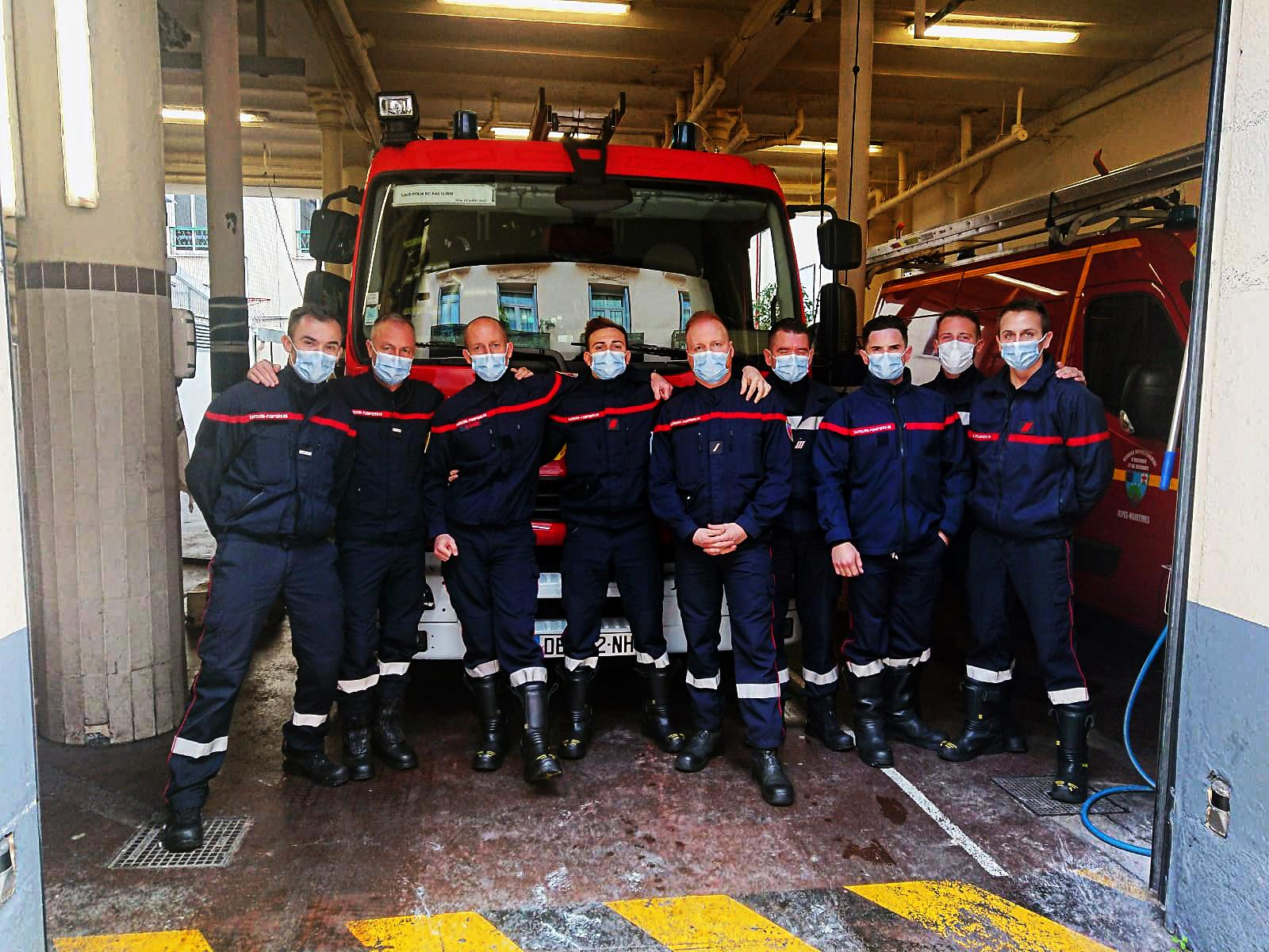 Equipe de garde Réveillon, Caserne HANCY