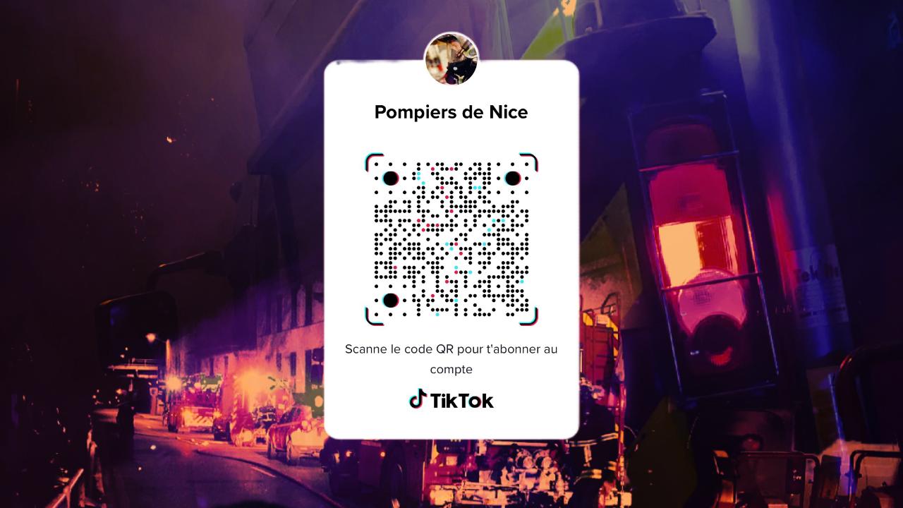 TikTok pompier_nice