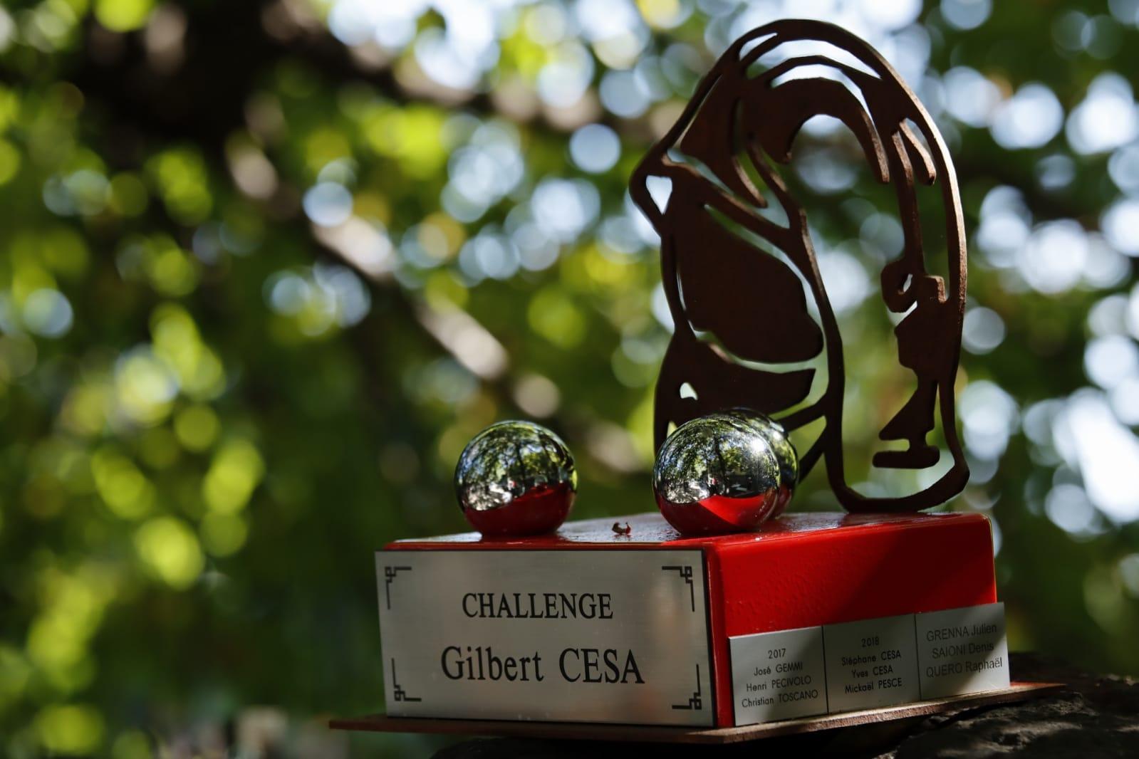 Challenge Gilbert CESA - Pompiers de Nice