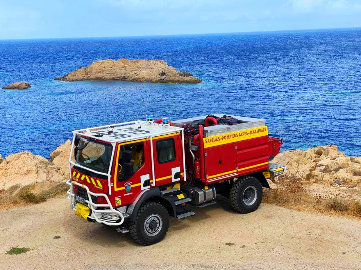Pompier de Nice, CFFM (Corse)