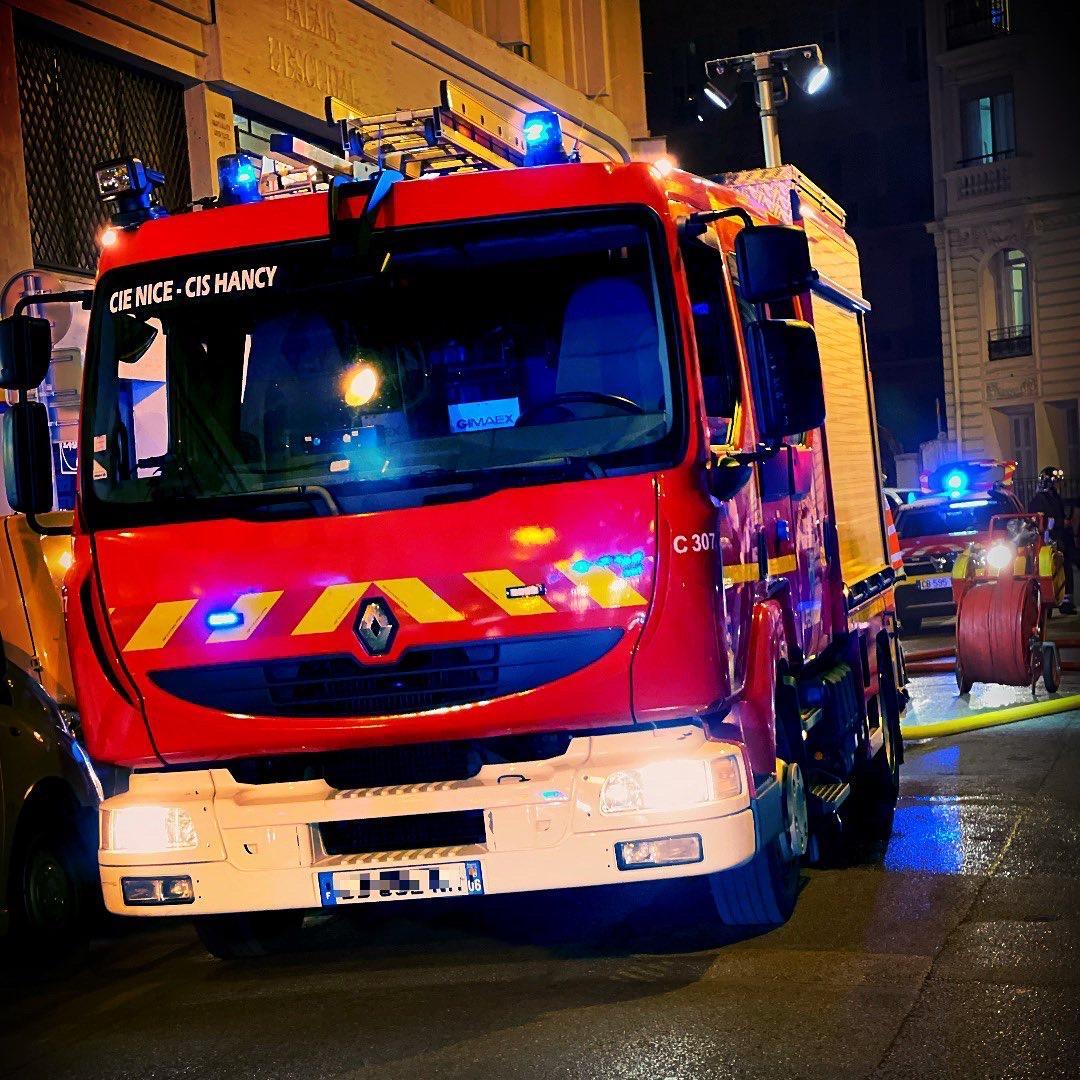Hancy, Pompiers de Nice ( Fptl)
