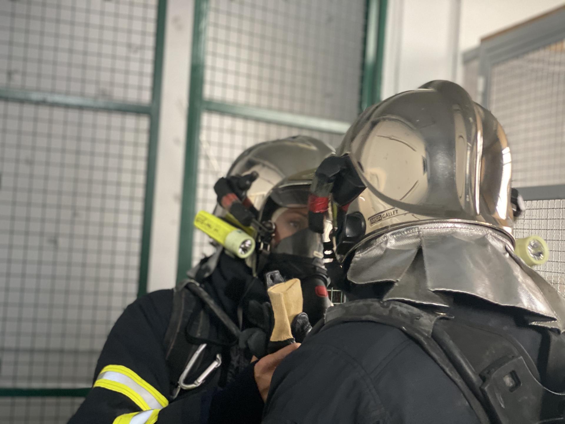 Travail Binome, Pompiers de Nice