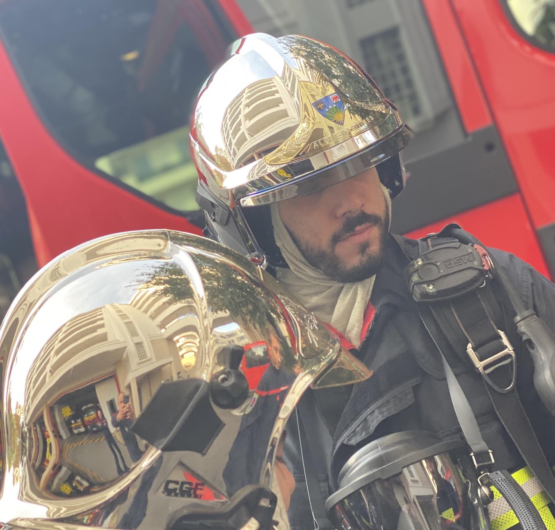 Manoeuvre de la Garde, Pompiers de Nice