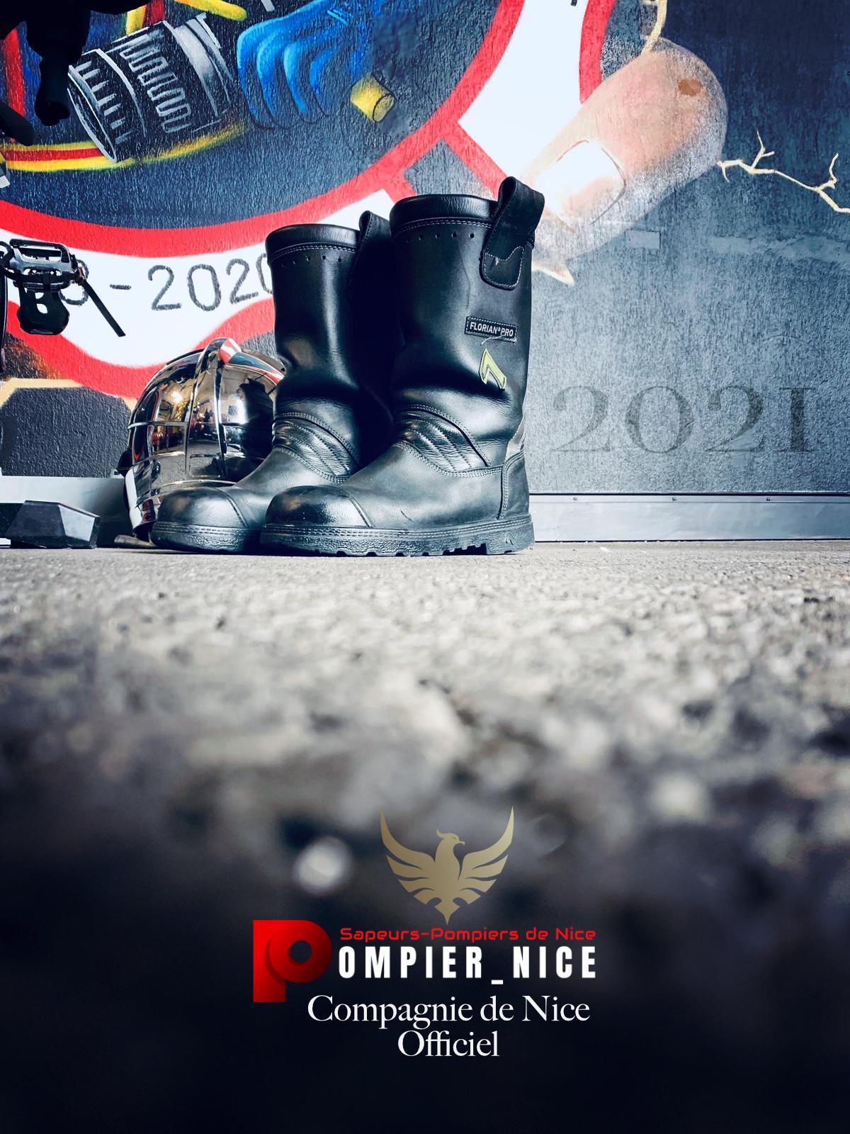New year, Pompier_nice, Compagnie de Nice